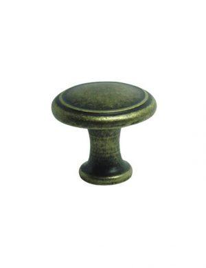 Buton din zamac pentru mobilier clasic.